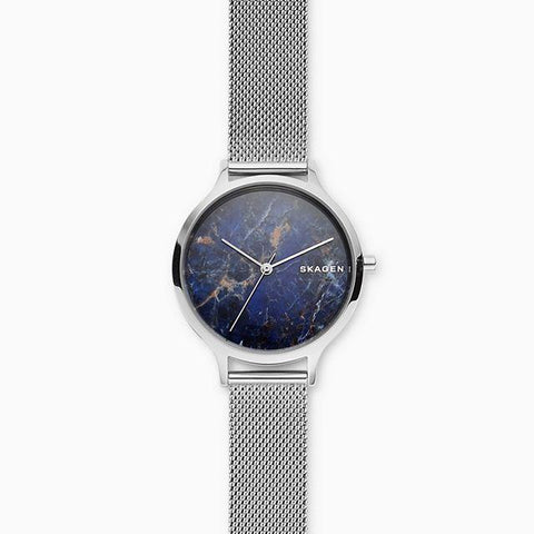 Skagen Ladies' Anita Steel Mesh Stone Watch SKW2718