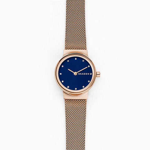 Skagen Ladies' Freja Rose Tone Steel Mesh Watch SKW2740