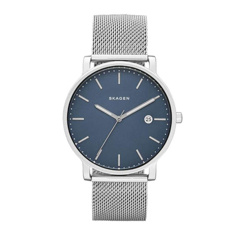 Skagen Men's Hagen Stainless Steel Mesh Band Watch SKW6327