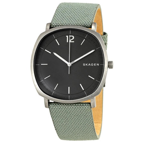 Skagen Men's Rungsted Green Nylon Strap Watch SKW6381