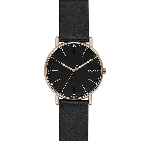 Skagen Men's Brown Leather Watch SKW6401