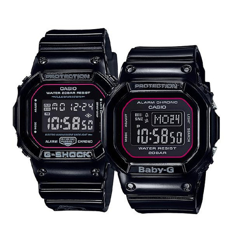 Casio G-Shock & Baby-G G Presents Special Pair Collection 2018 Limited Edition Summer Models SLV18B-1D SLV-18B-1D