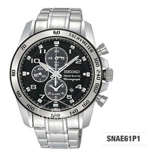 Load image into Gallery viewer, Seiko Solar Chronograph Watch SNAE61P1