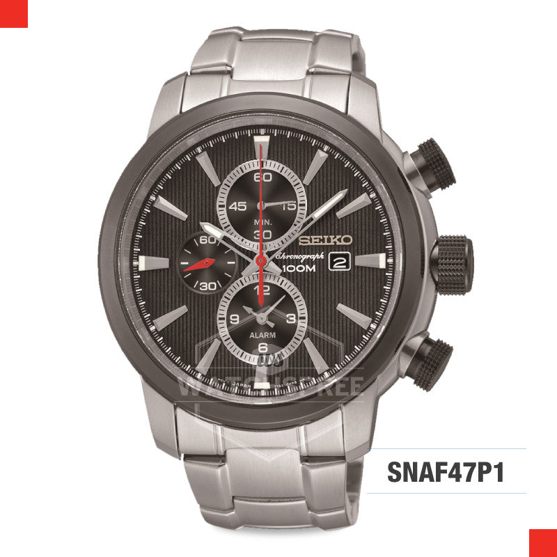 Seiko Chronograph Watch SNAF47P1