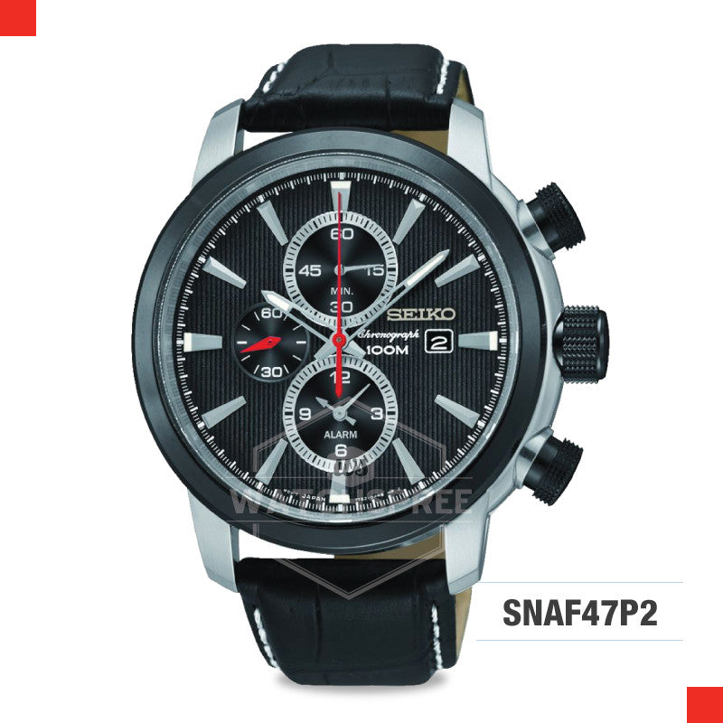 Seiko Chronograph Watch SNAF47P2