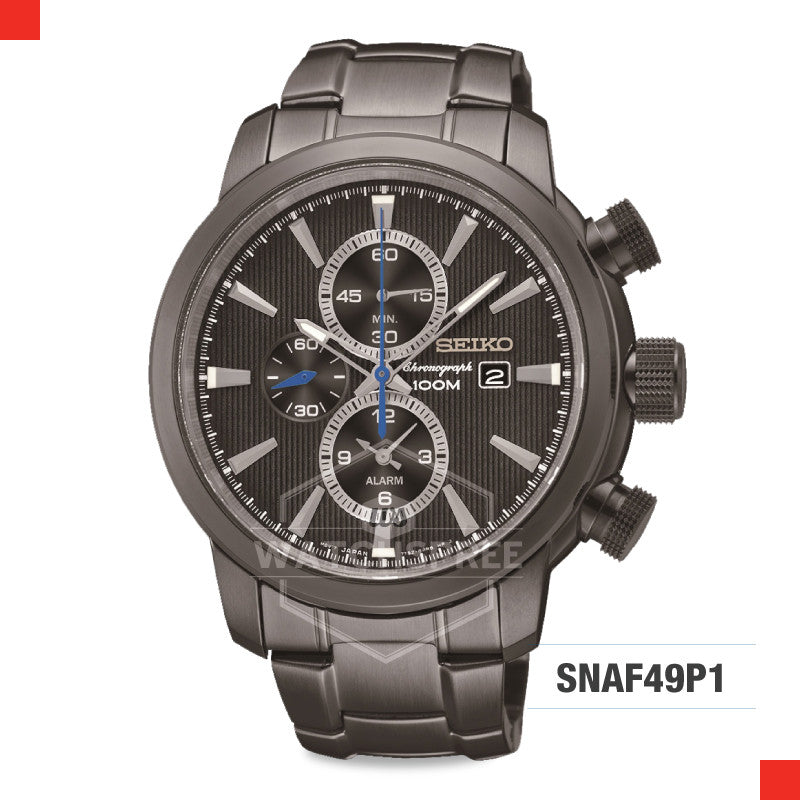 Seiko Chronograph Watch SNAF49P1