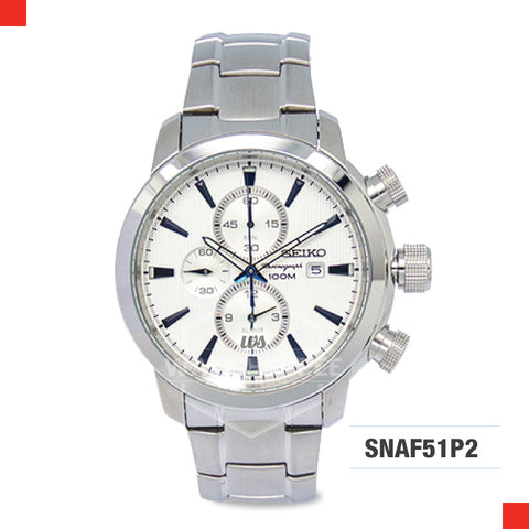 Seiko Chronograph Watch SNAF51P2