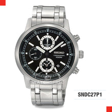 Load image into Gallery viewer, Seiko Chronograph Watch SNDC27P1