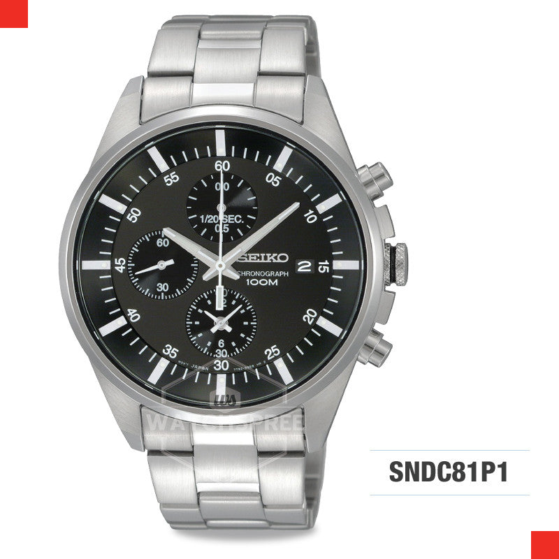 Seiko Chronograph Watch SNDC81P1