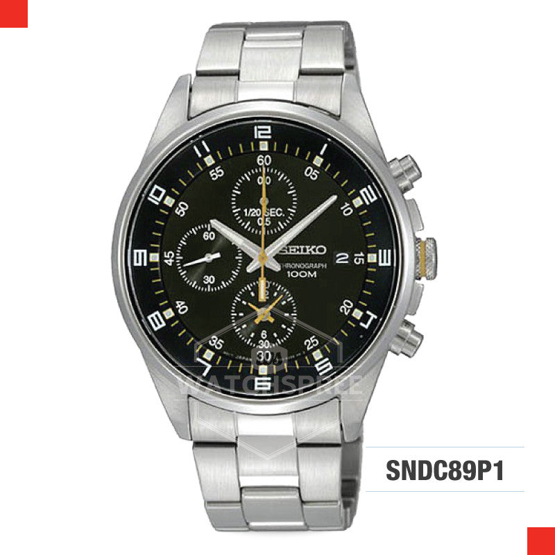 Seiko Chronograph Watch SNDC89P1