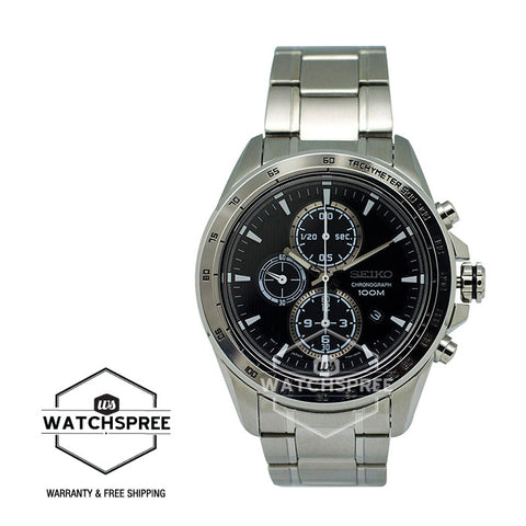 Seiko Criteria Chronograph Watch SNDG15P1 (Not for EU Buyers)