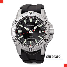 Load image into Gallery viewer, Seiko Solar Diver Watch SNE293P2