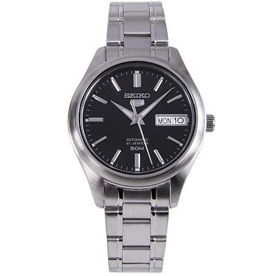 Seiko 5 Automatic Silver Stainless Steel Band Watch SNK883K1