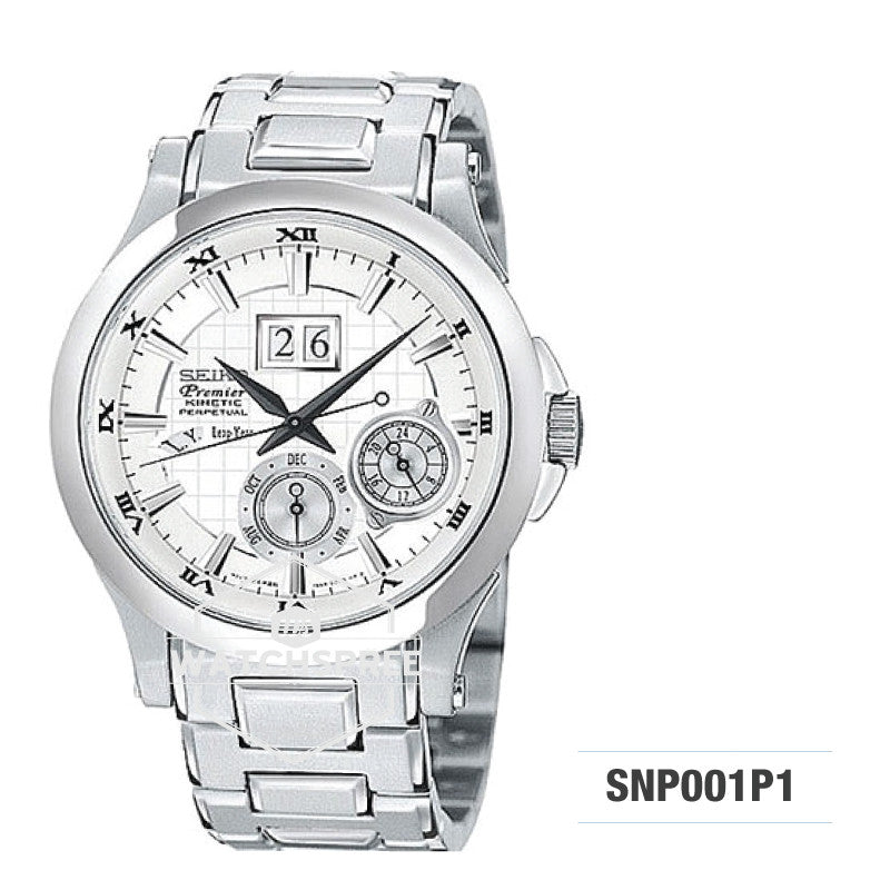 Seiko Premier Kinetic Watch SNP001P1