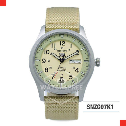 Seiko 5 Sports Automatic Watch SNZG07K1