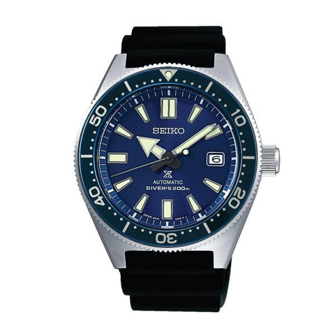 Seiko Prospex (Japan Made) Air Diver Automatic Black Silicon Strap Watch SPB053J1 (Not for EU Buyers)