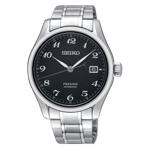 Seiko Presage (Japan Made) Automatic Silver Stainless Steel Band Watch SPB065J1 (Not for EU Buyers)