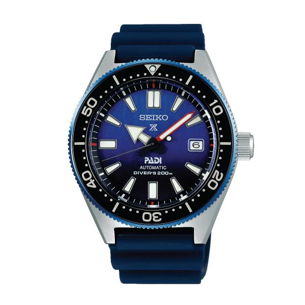 Seiko Prospex and PADI (Japan Made) Air Diver Special Edition Dark Blue Silicon Strap Watch SPB071J1 (Not for EU Buyers)