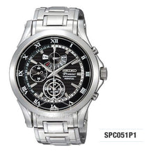 Load image into Gallery viewer, Seiko Premier Chronograph Watch SPC051P1