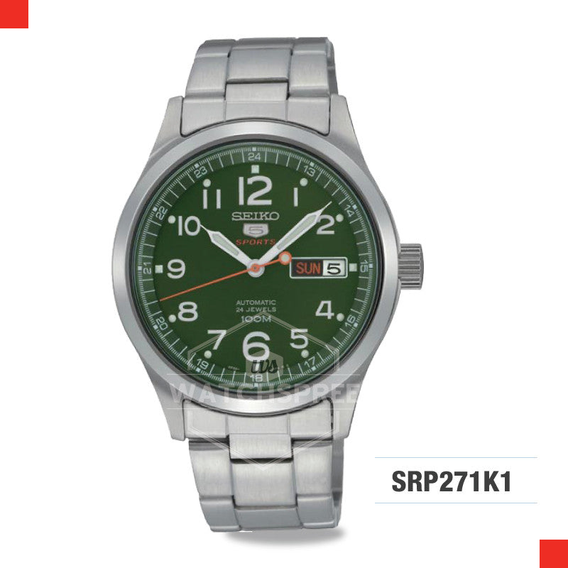 Seiko 5 Sports Automatic Watch SRP271K1
