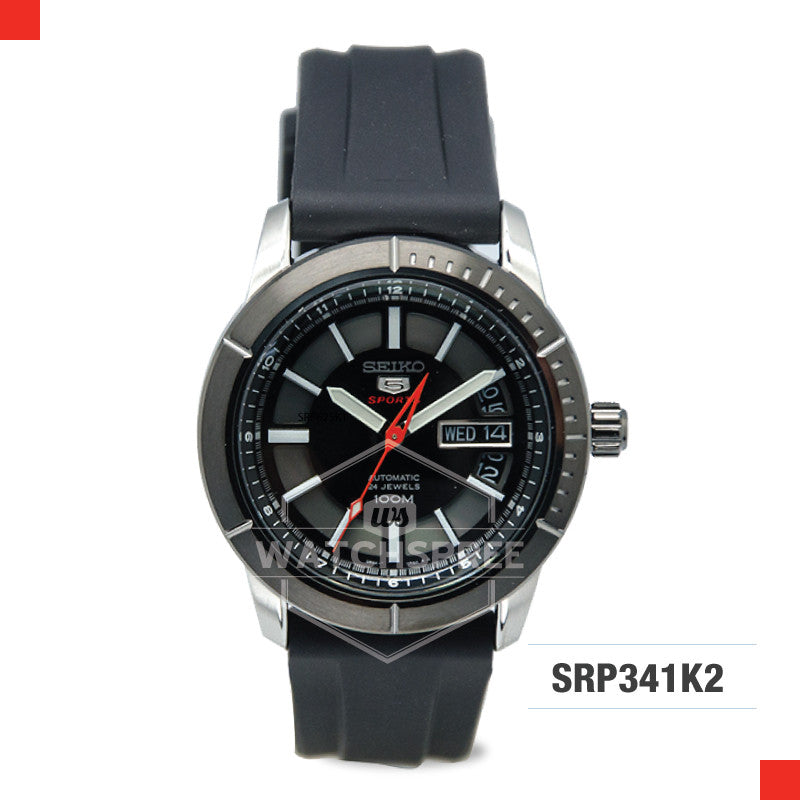 Seiko 5 Sports Automatic Watch SRP341K2