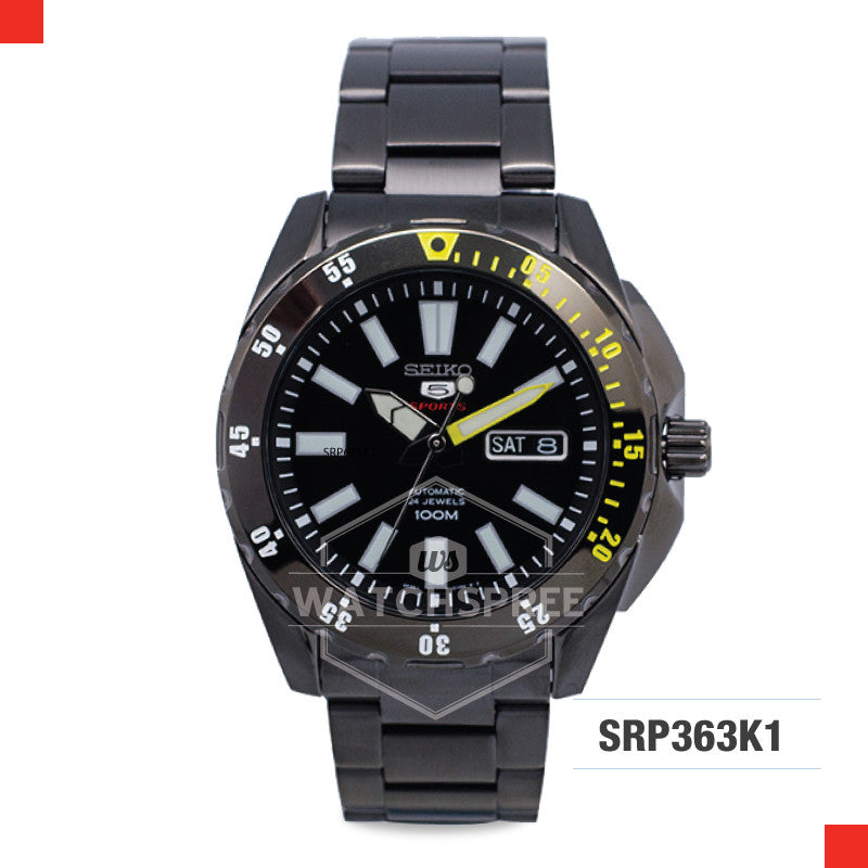 Seiko 5 Sports Automatic Watch SRP363K1