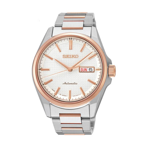 Seiko Presage (Japan Made) Automatic Two-tone Stainless Steel Band Watch SRP468J1