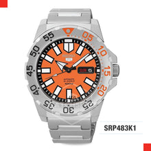 Load image into Gallery viewer, Seiko 5 Sports Automatic Watch SRP483K1