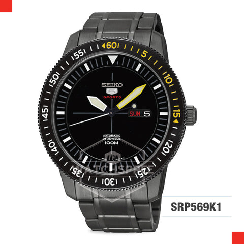 Seiko 5 Sports Automatic Watch SRP569K1