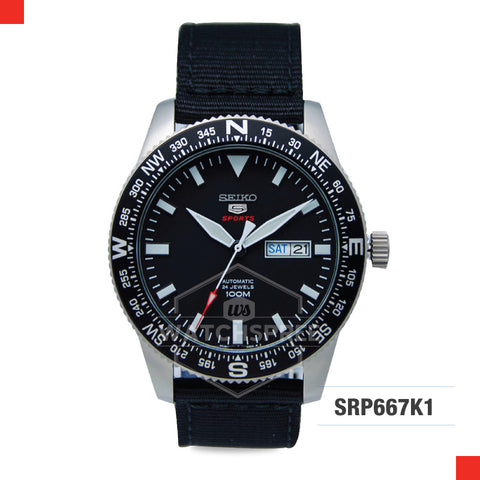 Seiko 5 Sports Automatic Watch SRP667K1