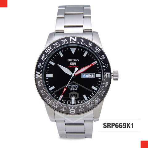 Seiko 5 Sports Automatic Watch SRP669K1