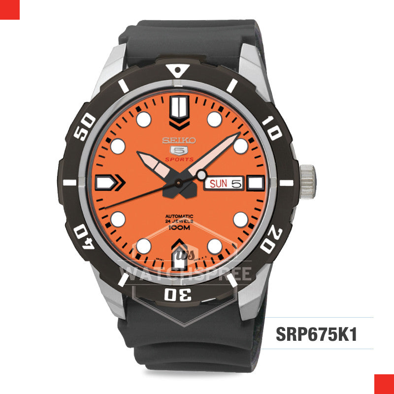 Seiko 5 Sports Automatic Watch SRP675K1