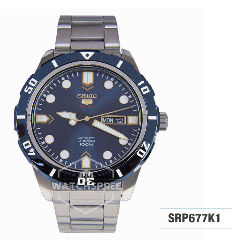 Seiko 5 Sports Automatic Watch SRP677K1