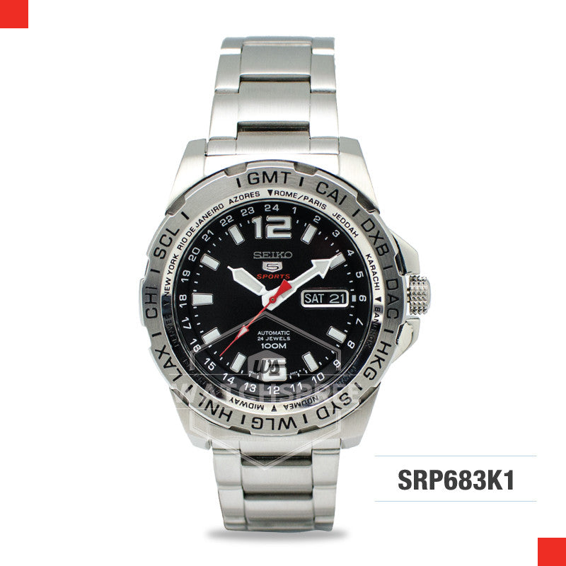 Seiko 5 Sports Automatic Watch SRP683K1
