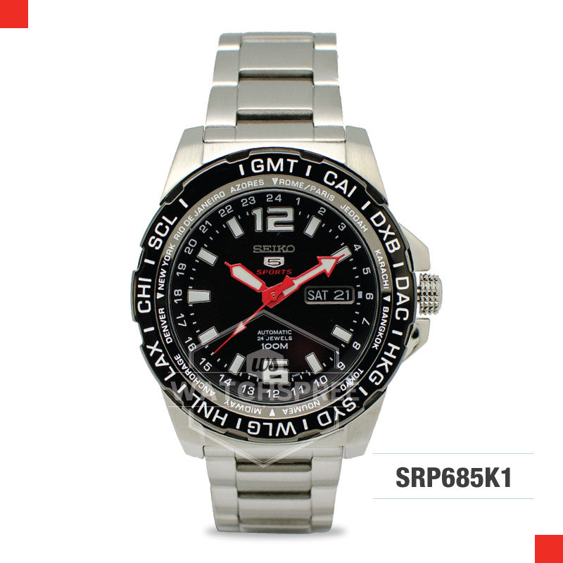 Seiko 5 Sports Automatic Watch SRP685K1