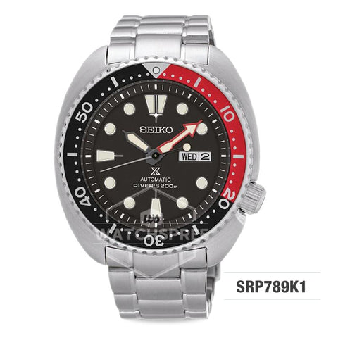 Seiko Prospex Automatic Air Diver's Silver Stainless Steel Band Watch SRP789K1