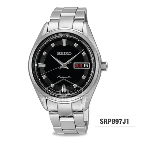 Seiko Presage (Japan Made) Automatic Silver Stainless Steel Band Watch SRP897J1