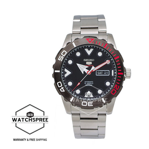 Seiko 5 Sport Automatic Stainless Steel Watch SRPA07K1