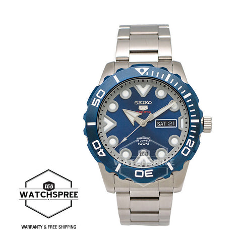 Seiko 5 Sport Automatic Stainless Steel Watch SRPA09K1