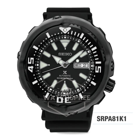 Seiko Prospex Diver Automatic Watch SRPA81K1 (Not for EU Buyers)
