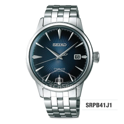 Seiko Presage (Japan Made) Automatic Silver Stainless Steel Band Watch SRPB41J1