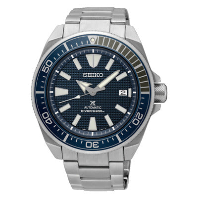 Seiko Prospex (Japan Made) Sea Series Air Diver's Automatic Silver Stainless Steel Band Watch SRPB49J1 (Not for EU Buyers)