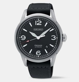 Seiko Presage (Japan Made) Automatic Black Leather Strap Watch SRPB67J1 (Not for EU Buyers)