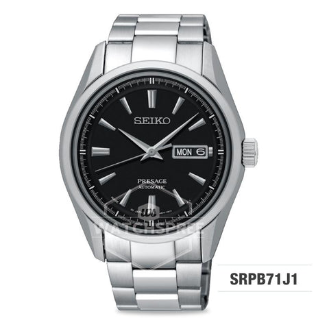 Seiko Presage (Japan Made) Automatic Silver Stainless Steel Band Watch SRPB71J1