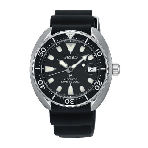 Seiko Prospex Sea Series Air Diver's Automatic Black Rubber Strap Watch SRPC37K1