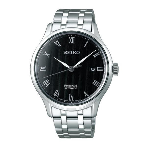 Seiko Presage (Japan Made) Automatic Silver Stainless Steel Band Watch SRPC81J1 (Not for EU Buyers)