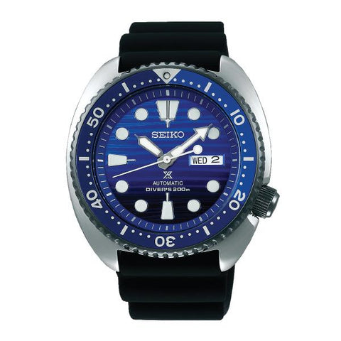 Seiko Prospex (Japan Made) Air Diver Special Edition Black Silicon Strap Watch SRPC91K1 (Not for EU Buyers)