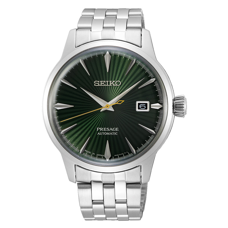 Seiko Presage (Japan Made) Automatic Silver Stainless Steel Band Watch SRPE15J1 (LOCAL BUYERS ONLY)
