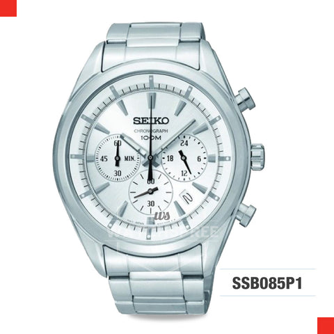 Seiko Chronograph Watch SSB085P1
