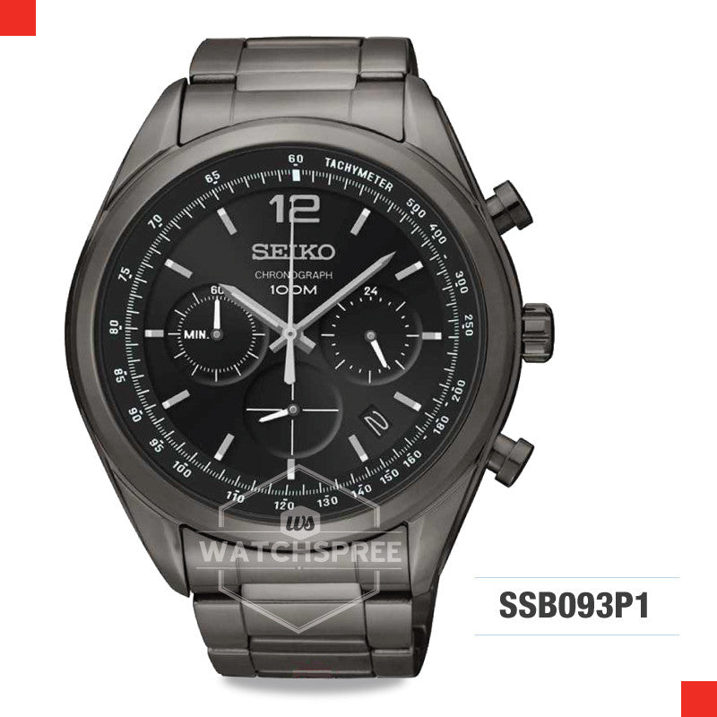 Seiko Chronograph Watch SSB093P1